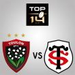 Match RC TOULON - STADE TOULOUSAIN