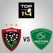 Match RC TOULON - SECTION PALOISE
