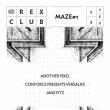 Soirée MAZE #1 à PARIS @ Le Rex Club - Billets & Places
