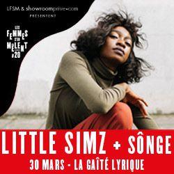 Billets Festival LFSM #20 ANS  LITTLE SIMZ + SÔNGE