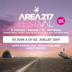 Billets FESTIVAL AREA217