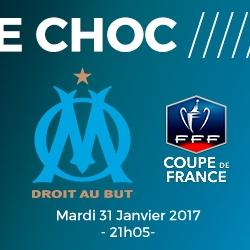 Billets Olympique de Marseille - Olympique Lyonnais