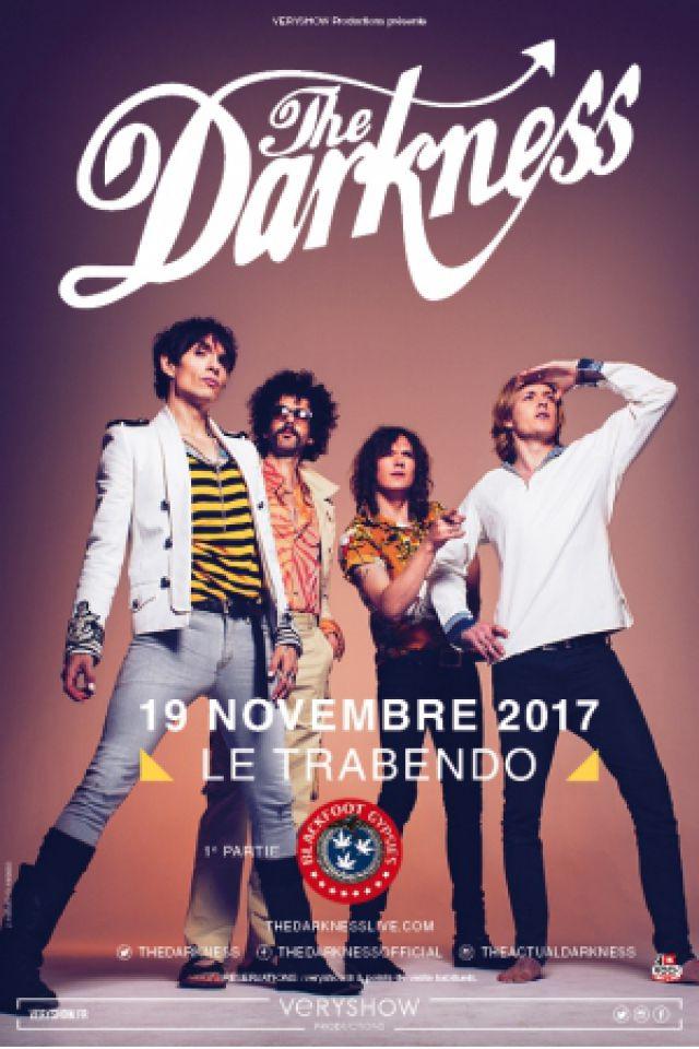 Concert THE DARKNESS à Paris @ Le Trabendo - Billets & Places