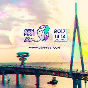 Festival GEM Fest 2017 à Anaklia - Billets & Places