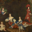 Visite Madame de Montespan et ses enfants, l'autre famille de Louis XIV