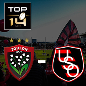 Carte RC TOULON - OYONNAX