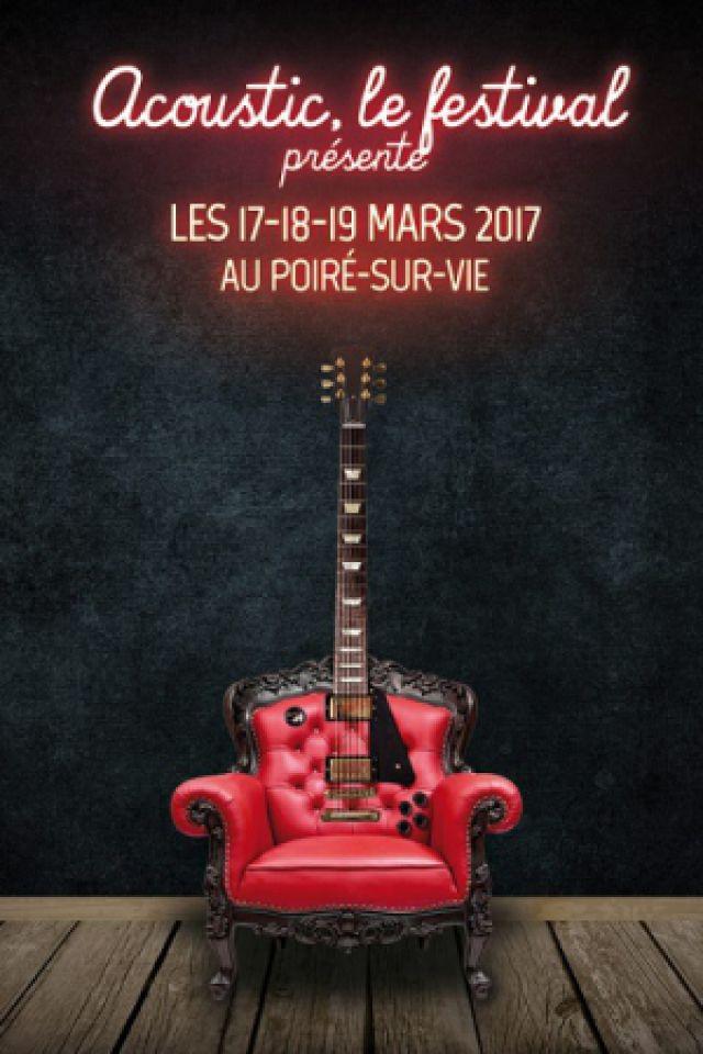 ACOUSTIC FESTIVAL - LAURA GIBSON - SHAKE SHAKE GO - COCOON à LE POIRÉ SUR VIE @ SALLE DE L'IDONNIERE - Billets & Places