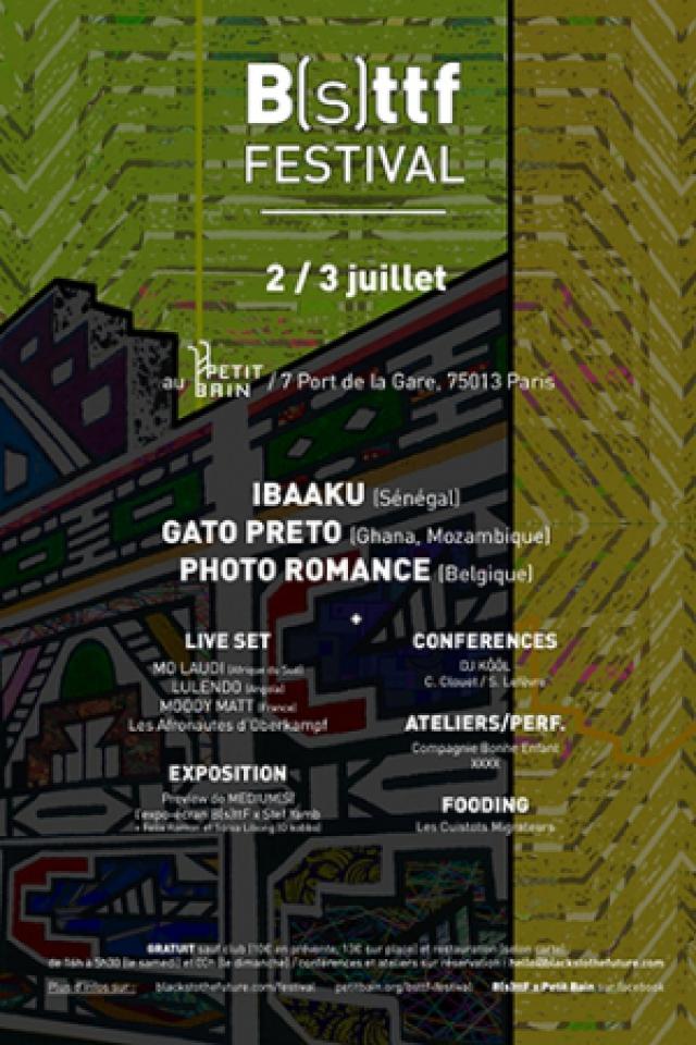 Concert BLACK(S) TO THE FUTURE FESTIVAL : IBAAKU + GATO PRETO + PHOTO ROM à PARIS @ Petit Bain - Billets & Places