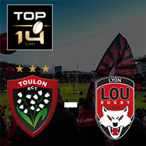 Carte RC TOULON - LYON