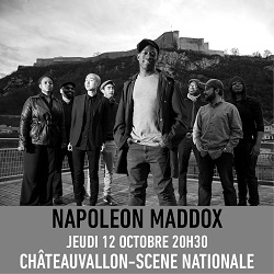 """Billets NAPOLEON MADDOX """"Twice the first Time"""""""